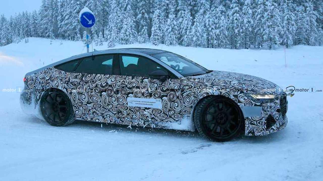 Audi RS7 Spy Shots