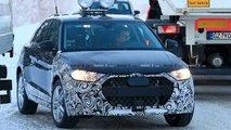 Audi A1 Allroad Karlı Havada Casus Fotoğrafları