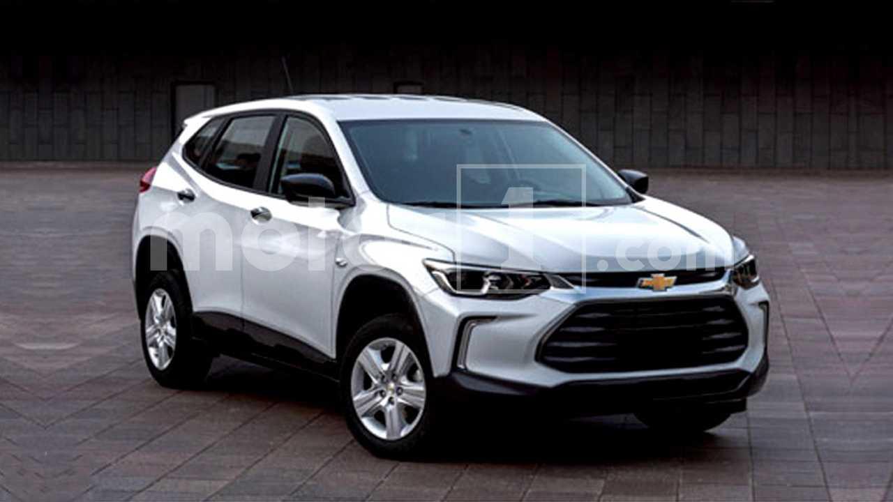 Chevrolet Tracker 2020 - Imagens vazadas