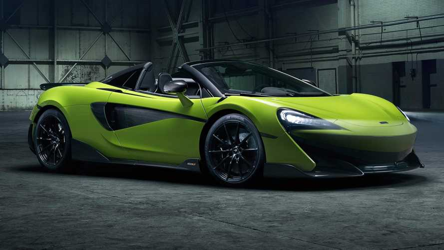 McLaren 600LT Spider arrives putting wind in your hair at 201 mph
