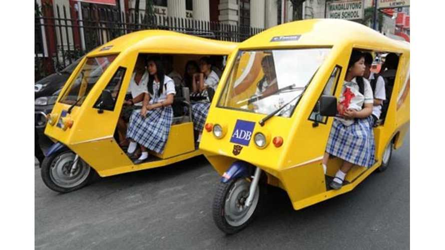 Phillipines and Loas Getting Ready for Influx of 100,000-Plus Electric Vehicles