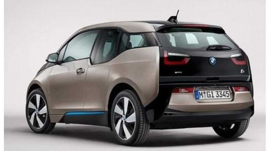BMW i3 Production Version Unveiled A Touch Early