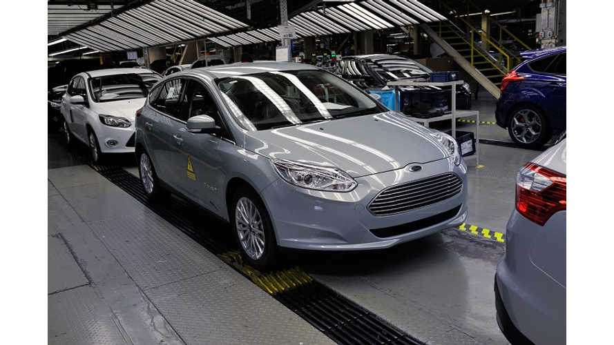 "Ford Expects To Only Sell ""Around 25"" Focus Electrics In The UK Next Year"