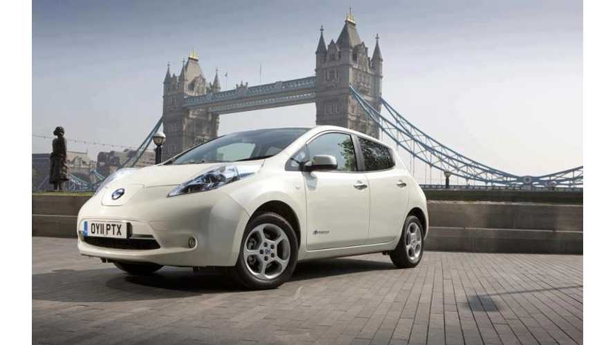 New London Congestion Charge Threshold Reduced To 75g/km, Which Only Plug-Ins Qualify