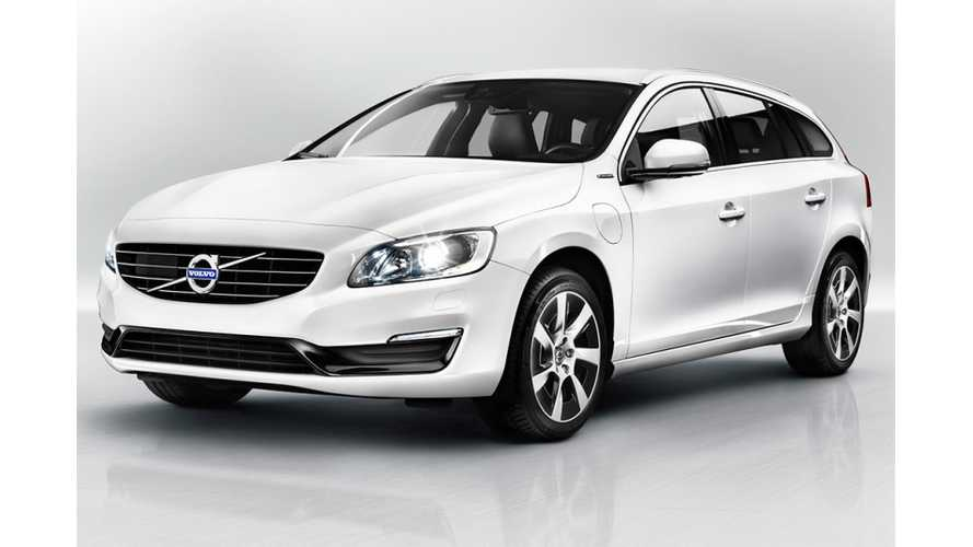 Volvo V60 Plug-In Hybrid to Make US Debut at New York Auto Show