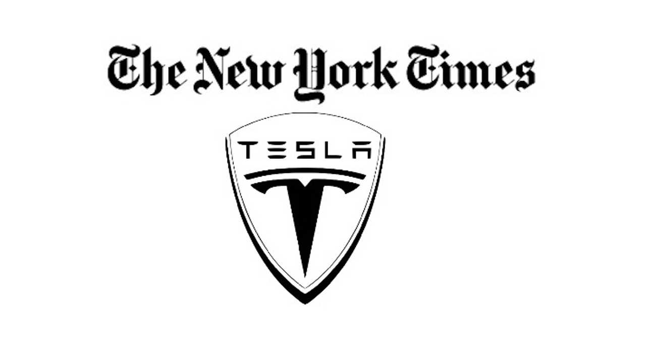 New York Times Responds to Data Released by Tesla