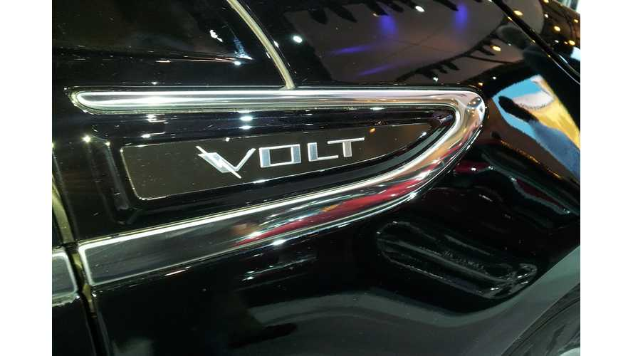 Chevrolet Volt Sales Drag In March, As Cadillac ELR Re-Tooling Gets Underway