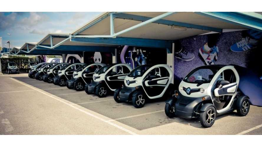 Renault Twizy Perfectly Suited as Vacation Rental Vehicle