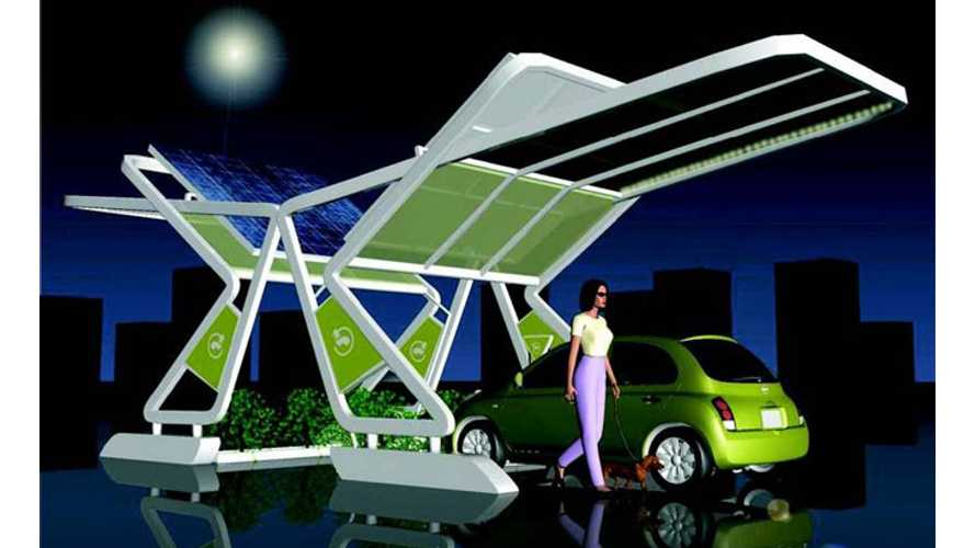 Wacky Solar Charging Station TWITT Wins Obscure Design Contest