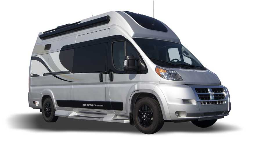 National Traveler camper van has ample headroom