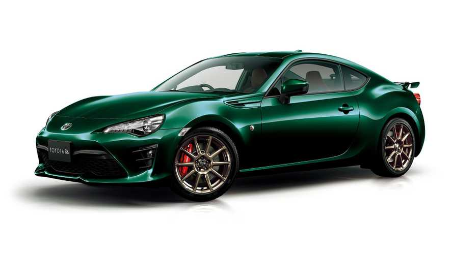 Toyota GT86 British Green Limited if for Japan only