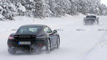 Porsche 718 Cayman GT4 Туристические шпионские снимки