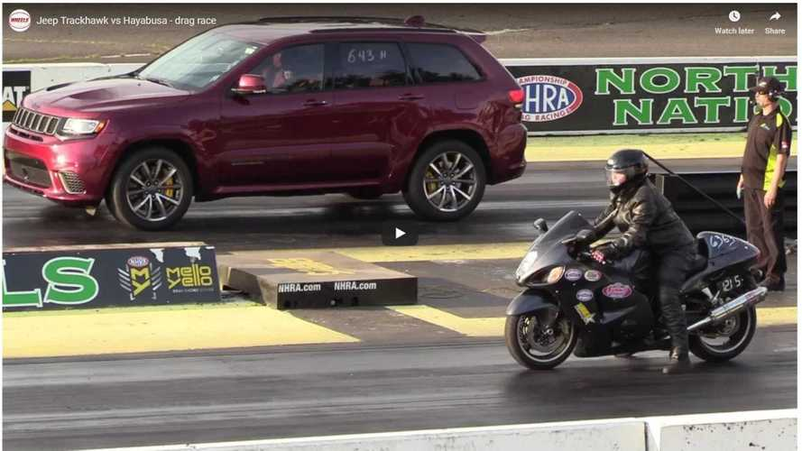 Hayabusa Rider Embarrasses Us All In Drag Race