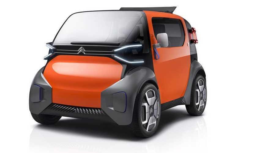 Citroen'nin gizemli EV modeline ait bir teaser yayınlandı