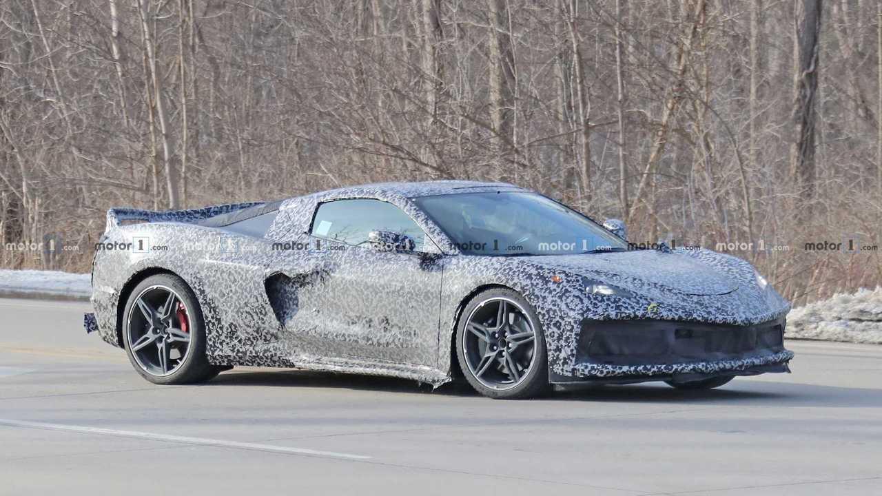 2020 Mid-Engined Corvette Spy Photo