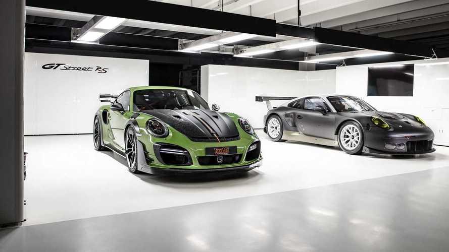 Techart GTstreet RS based on the Porsche 911 Turbo S