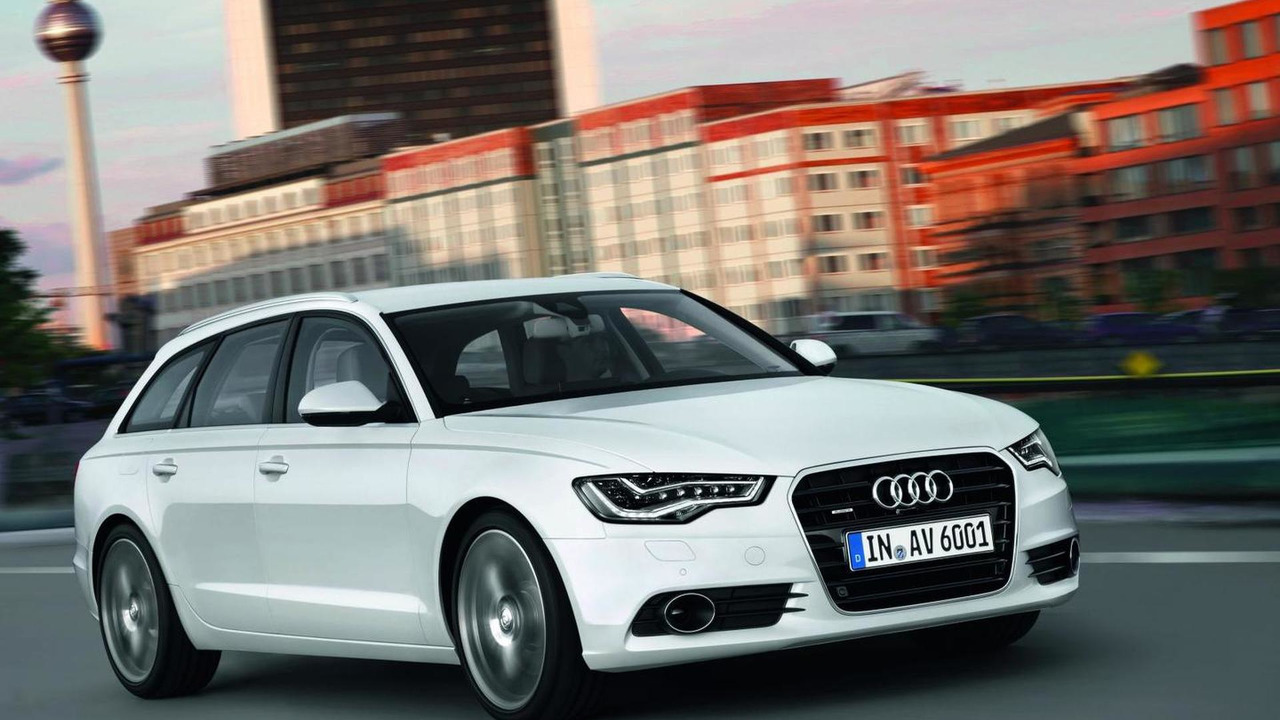 2013 Audi A6 Avant with LED headlights