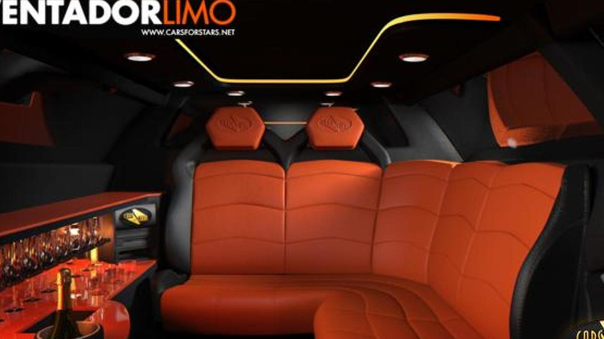 Lamborghini Aventador Turned Into A Limo By Cars For Stars Video