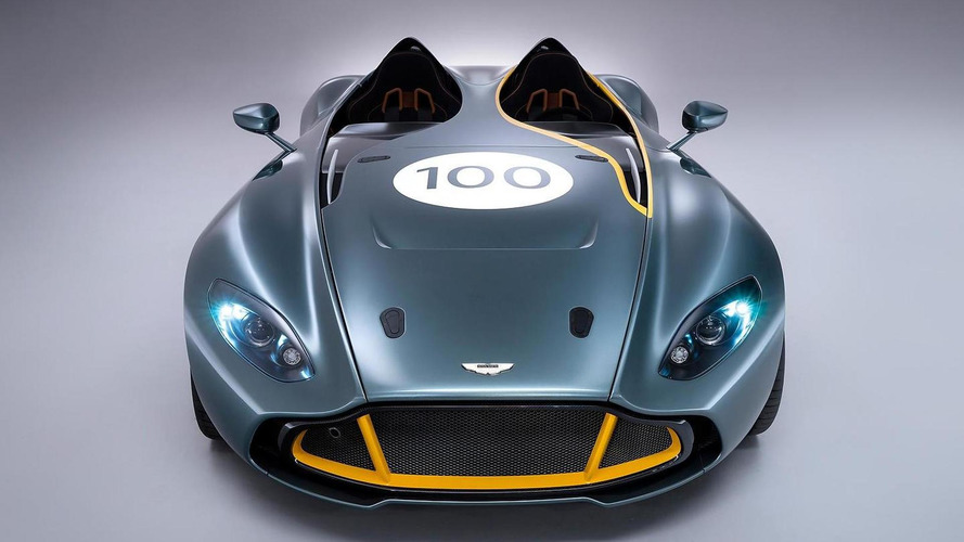 Aston Martin CC100 concept driven by Jay Leno [video]