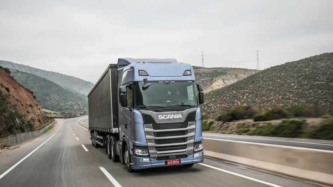 Scania Rilevamento Laterale