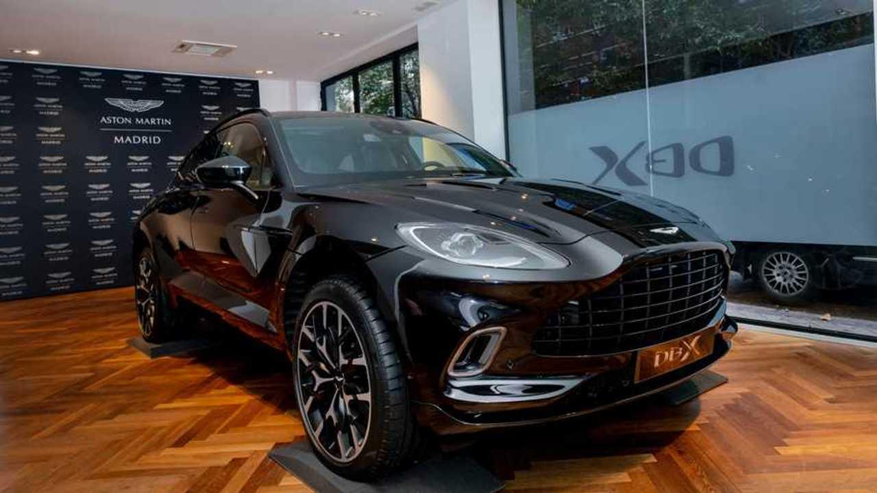 Aston Martin DBX Presentación en Madrid