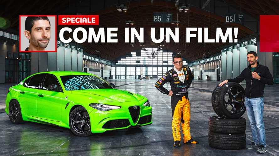 """Come si guida """"nella realtà"""" l'Alfa Romeo Giulia di 6 Underground"""