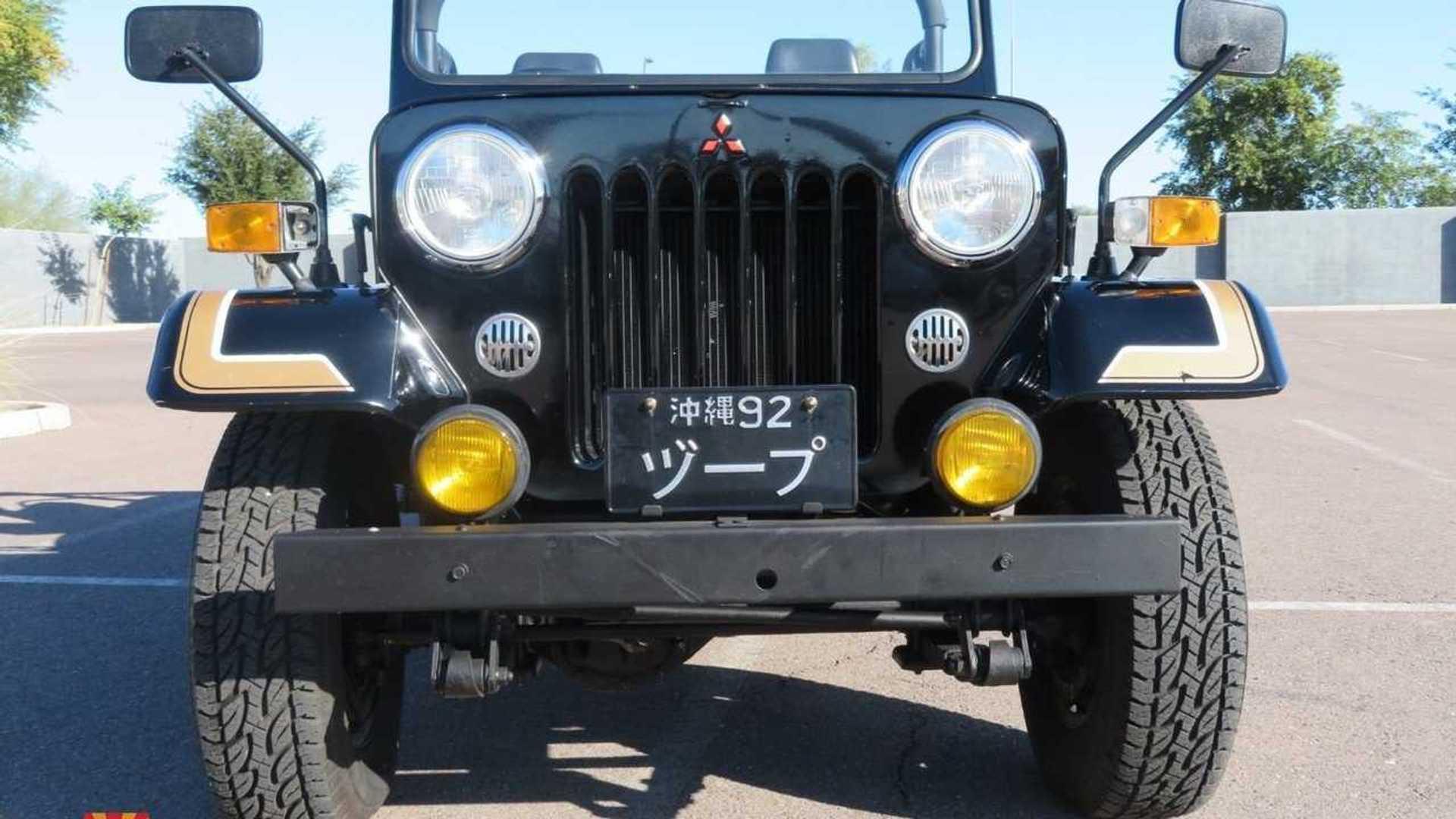 """[""""1991 Mitsubishi J53 Is A JDM Jeeper""""]"""