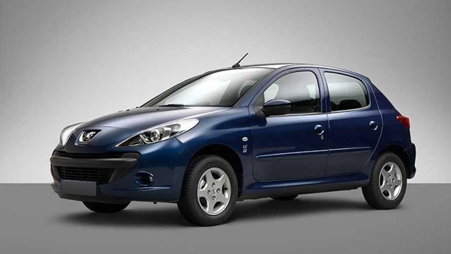 Peugeot 207 - Irã