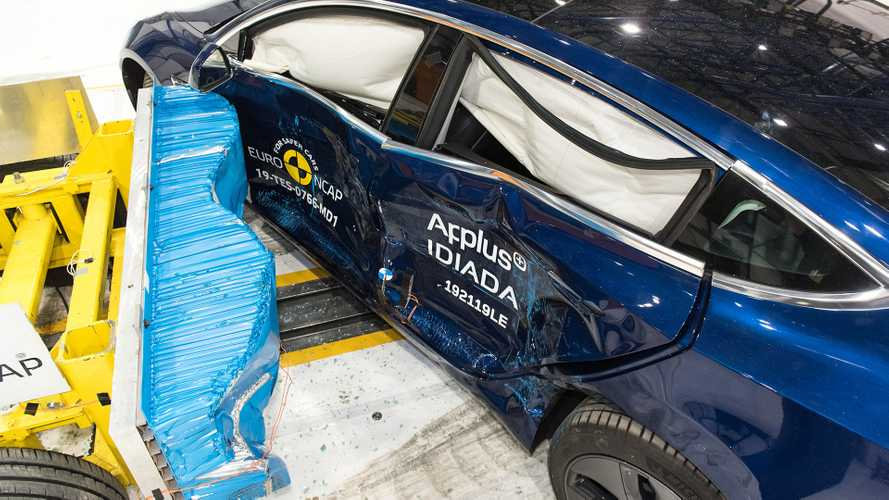 Crash Test EURO NCAP 2019 Tesla Model 3