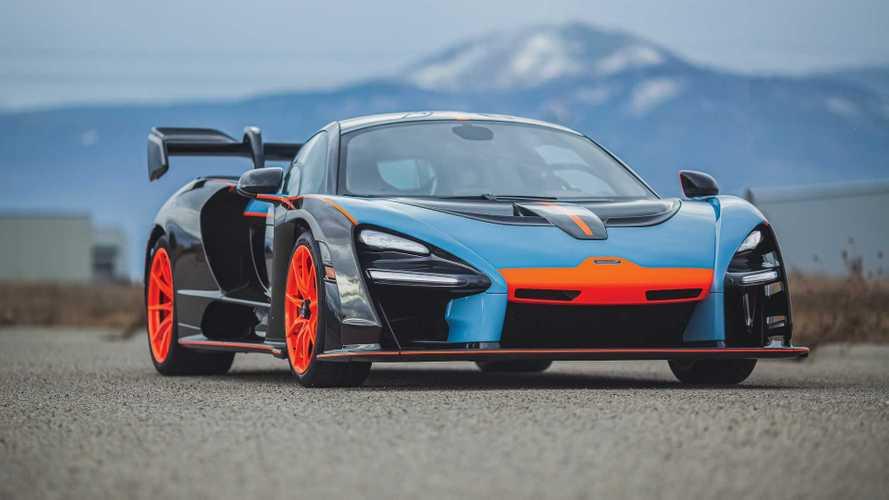 Une McLaren Senna aux couleurs Gulf va être vendue aux enchères