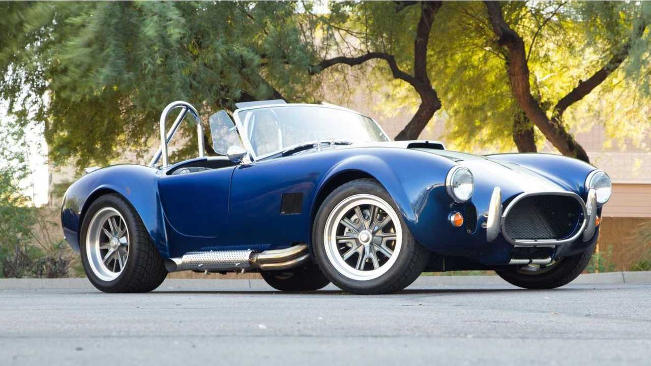 Own The Road In This 1965 Factory Five Cobra