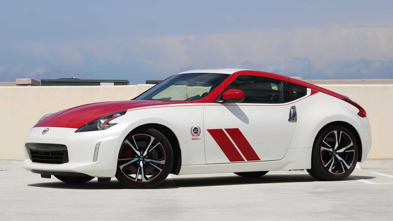 The 2020 Nissan 370Z Anniversary Edition.
