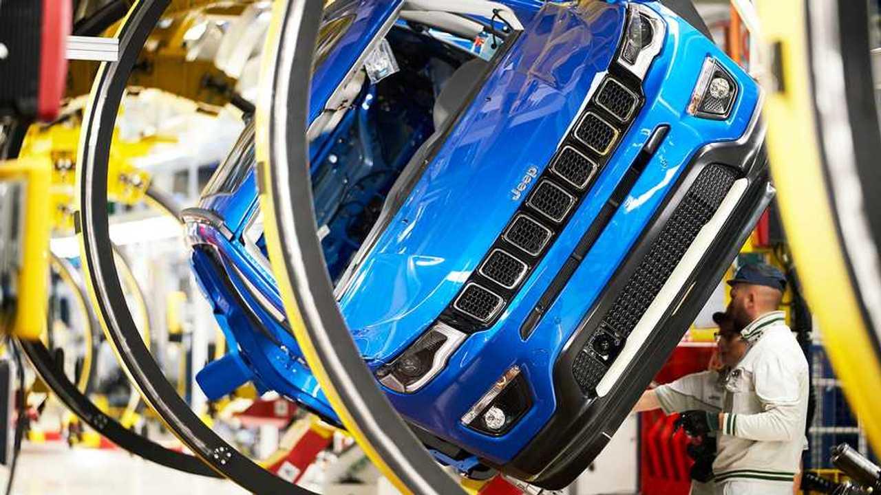 Stabilimenti FCA, Lamborghini e Ferrari