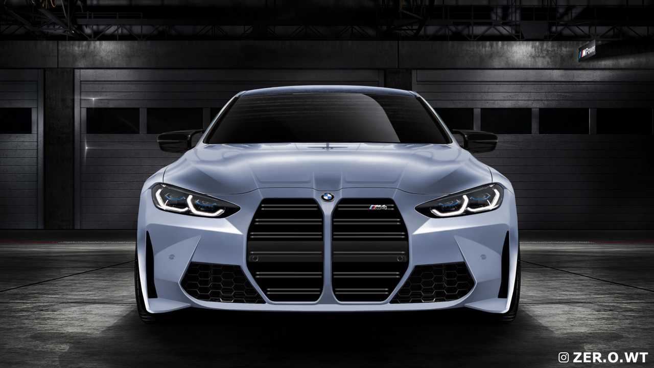 BMW M4 Fan Rendering