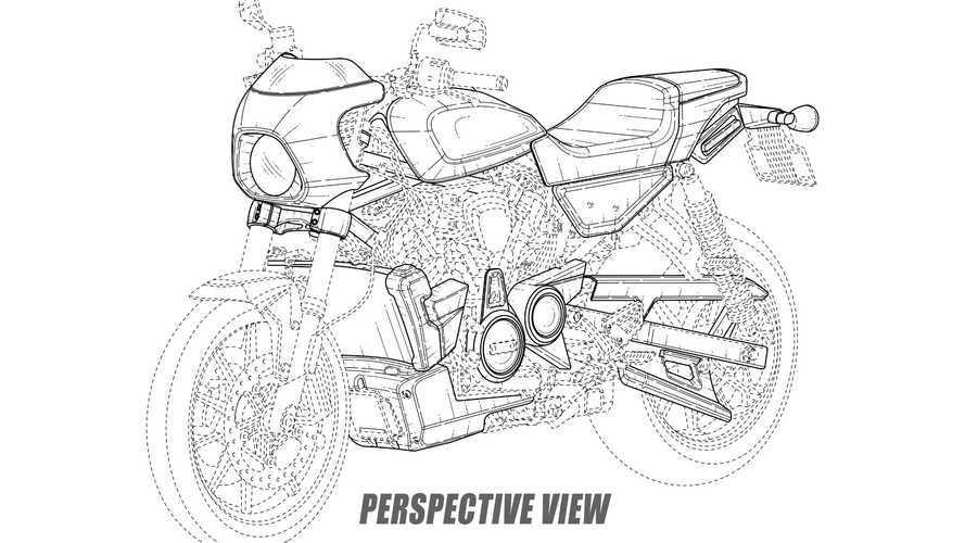 Harley-Davidson Flat Tracker e Cafe Racer: disegni e foto