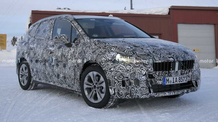 New BMW 2 Series Active Tourer spied inside and out