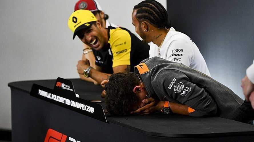 Vídeo: los tronchantes regalos entre los pilotos de F1