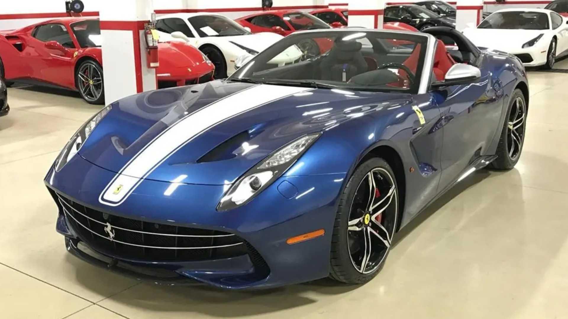 Rare Ferrari F60 America Shows Up For Sale In Canada