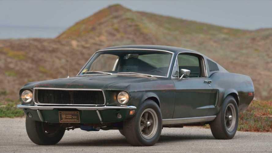 Subastado el Ford Mustang original de Bullitt, por 3,3 millones de euros