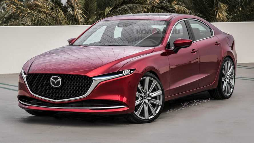 Rear-Drive 2023 Mazda6 Rendered, And We Like What We See