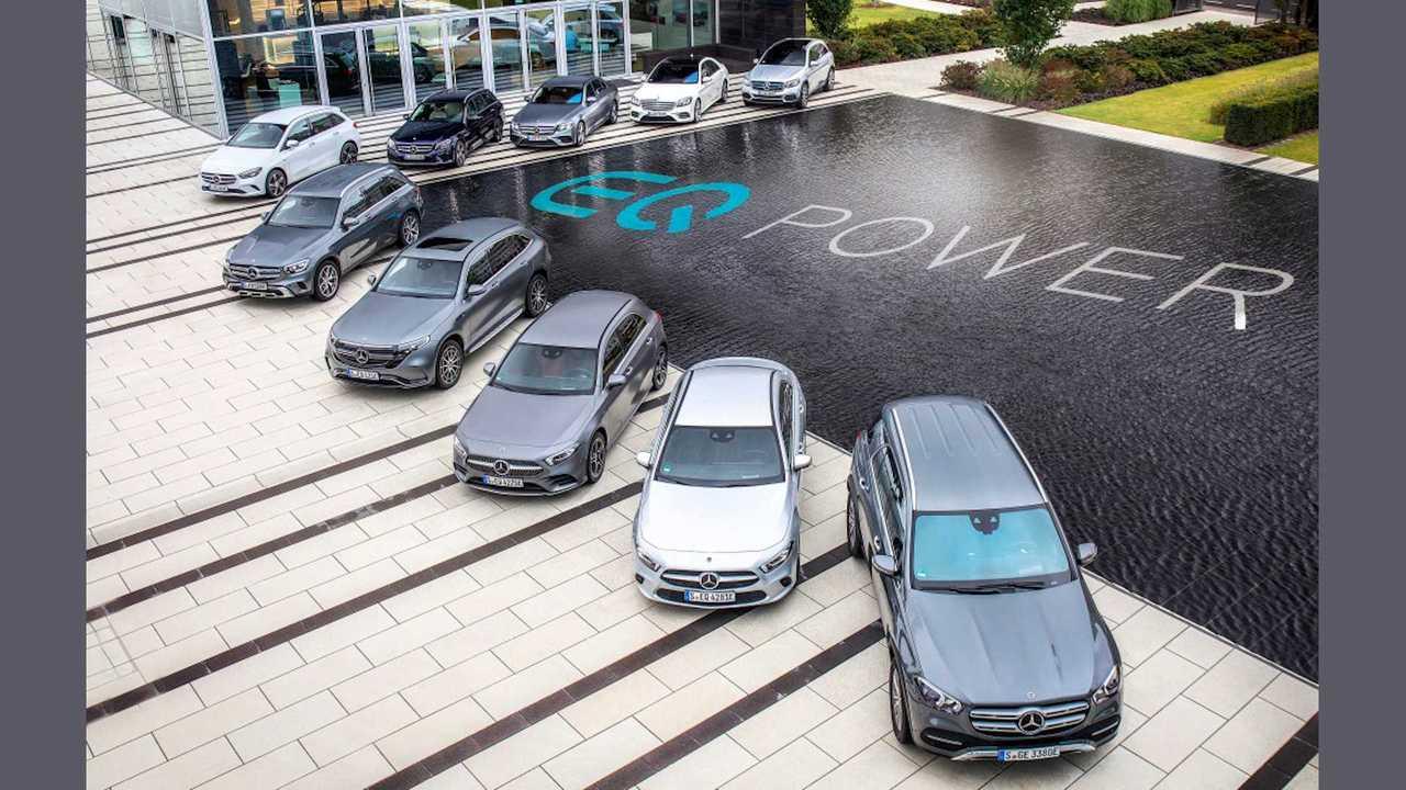 Mercedes erklärt seine Plug-in-Hybridantriebe