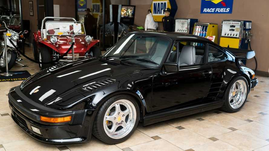 Garage An Ultra-Rare 1988 Porsche 911 Turbo Slantnose