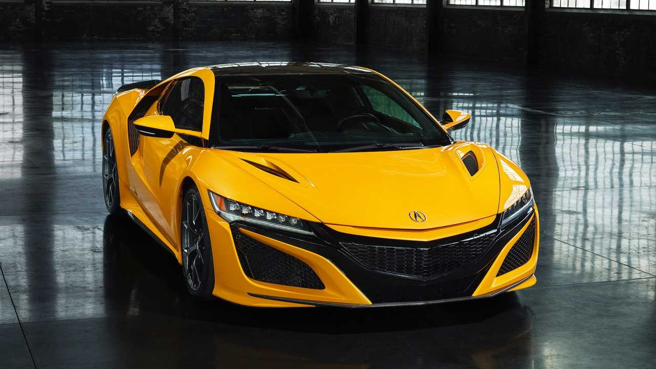 Indy Yellow Pearl: Acura