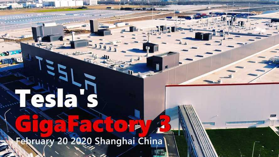 Tesla GF3 Quickly Resumes Production: February 20, 2020 Video