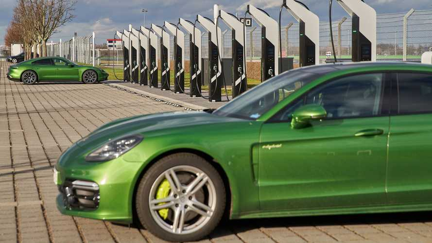 Porsche Opens Europe's Most Powerful Fast-Charging Park