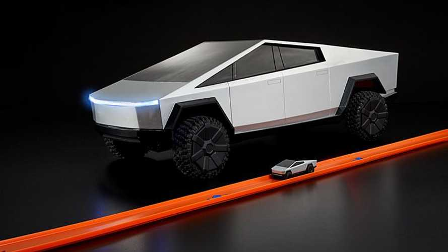 Hot Wheels' Tesla Cybertruck RC Finally Shipping To Buyers