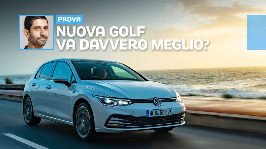 Volkswagen Golf 8, la video prova del 1.5 TSI da 130 CV