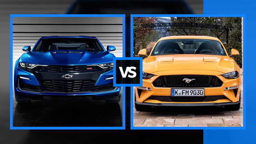 "Chevrolet Camaro vs Ford Mustang, belve ""Made in USA"" a confronto"
