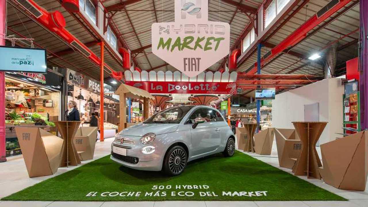 Fiat 500 Hybrid 2020 en Madrid
