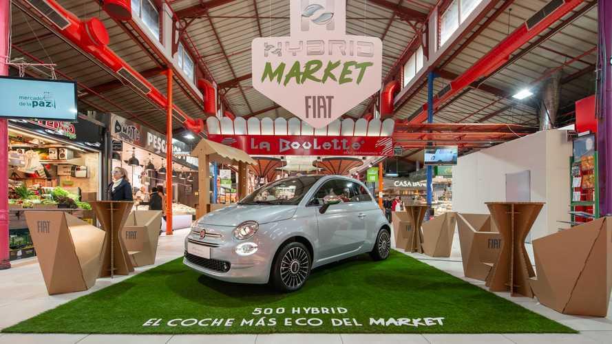 El nuevo Fiat 500 Hybrid 2020 se deja ver en Madrid